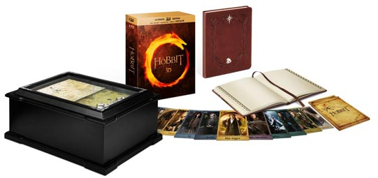le hobbit edition collector coffret limitee-DVD-Blu-ray-3D