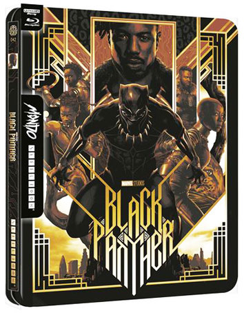 Black Panther Steelbook 4K Marvel editino collector Bluray Ultra HD