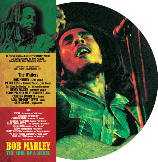 Bob Marley vinyle picture disc 2020 2021 LP