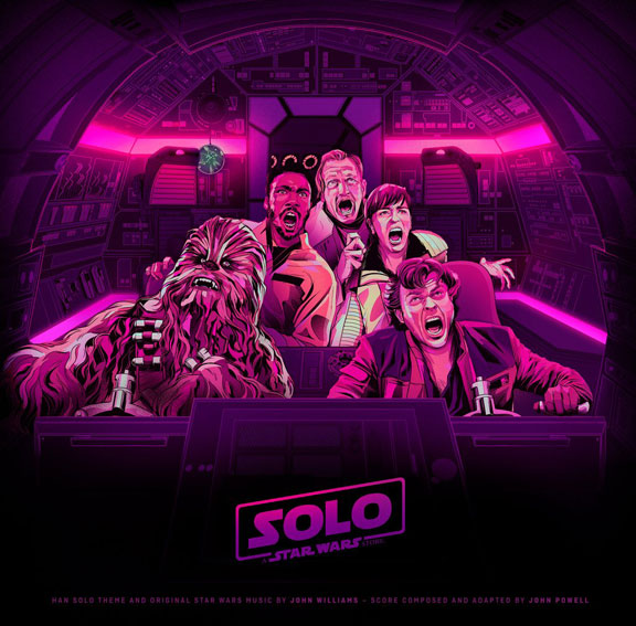 solo star wars story vinyle LP Mondo edition ost soundtrack bande originale 2LP