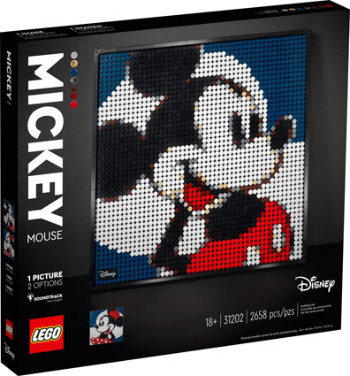 Lego art mickey mini tableua picture 31202