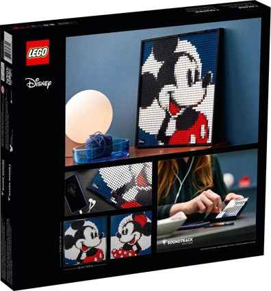Lego tableau mickey disney collection