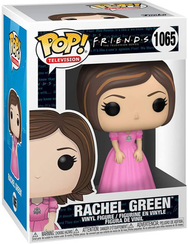 Funko pop friends rachel robe rose