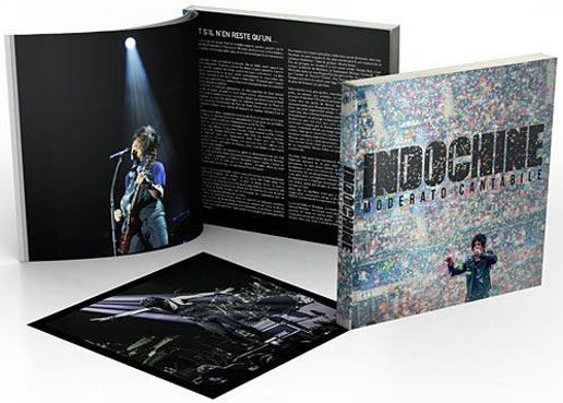 Livre artbook indochine moderato cantabile 2021 edition limitee fnac