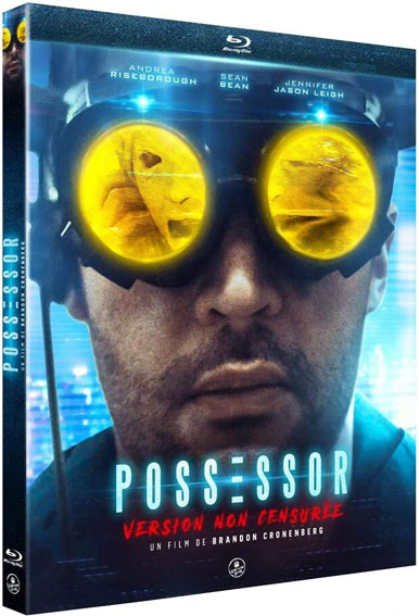 Possessor film fils cronenberg blu ray DVD editino version non censuree