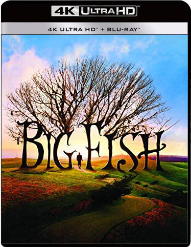 Big Fish Blu ray 4K Ultra HD tim burton