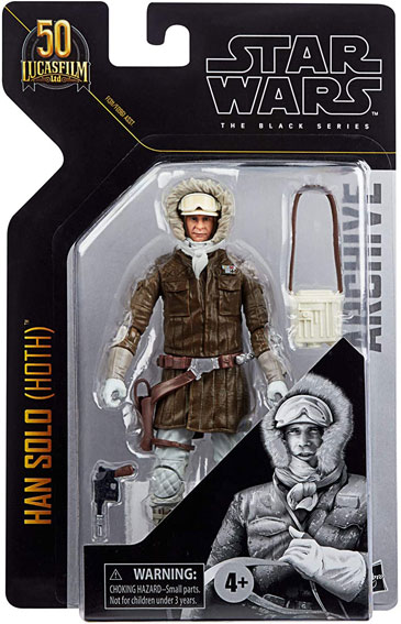 Han Solo figurine collector 50 lucasfilm 2021 Star Wars 50th anniversary