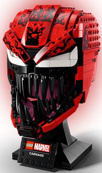 casque lego marvel carnage