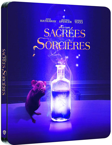 sacree sorciere bluray dvd 4k steelbook collector achat precommande