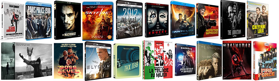 sorties bluray dvd 4k Mars 2021 films series et animes