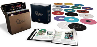 0 queen vinyle lp colore integrale coffret box