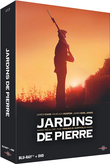 Jardin de Pierre coffret collector edition limitee Blu ray DVD coppola