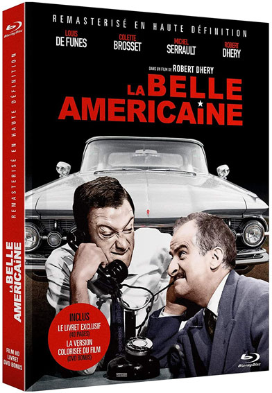 La belle americaine Blu ray DVD edition collector 2020
