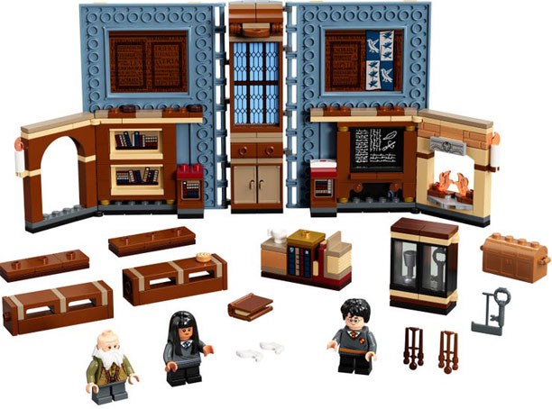 Book LEGO Harry Potter poudlard hogwart moments