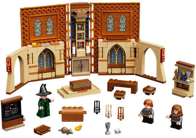 Lego harry potter collection noel 2020 livre