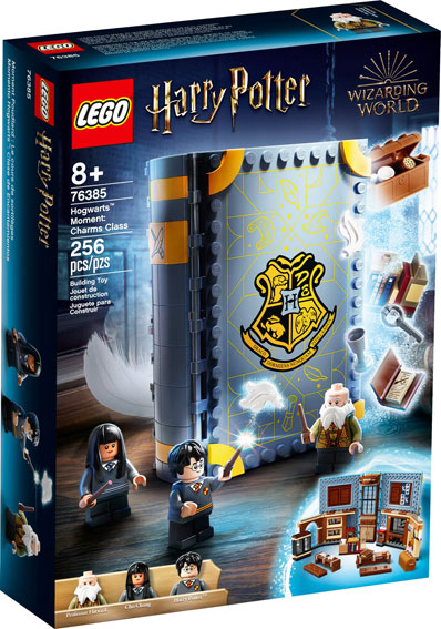 Livre LEGO Hogwart Moments Harry Potter 76385