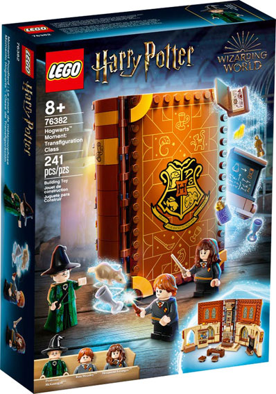 Livre Lego Harry Potter 76382 collection Hogwart poudlard