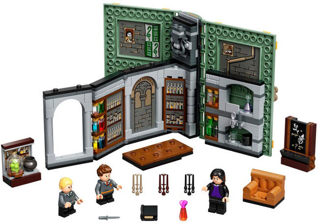 Livre book lego harry potter