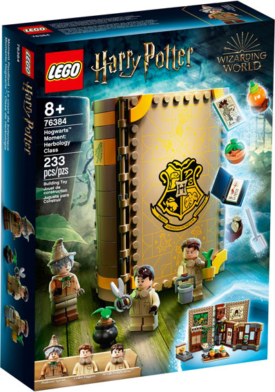 Livre lego harry potter 76384 Hogwart Moments Hebology class