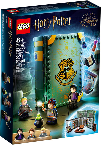 Livre potion lego harry potter 76383