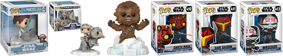 nouvelle figurine funko pop star wars 2020 2021 deluxe edition