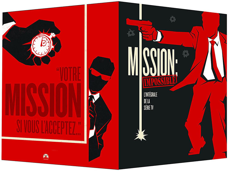 Mission impossible coffret integrale Bluray DVD serie saisons