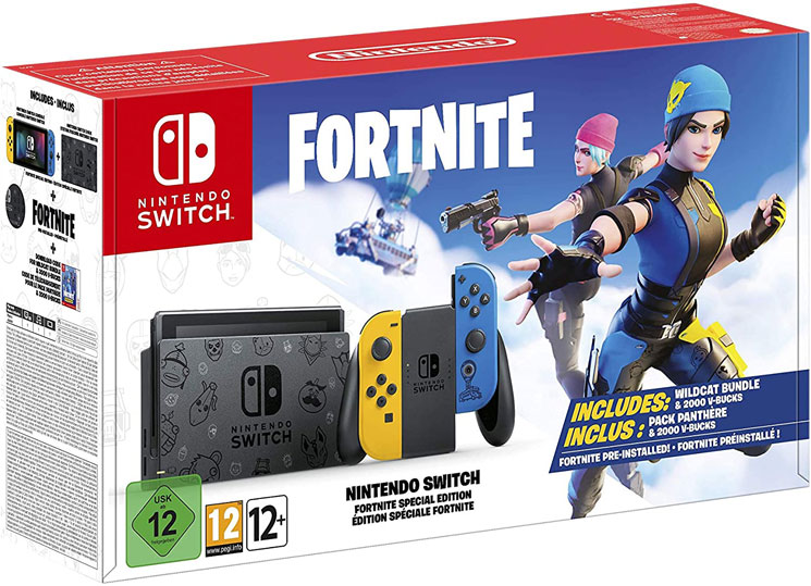 Console nintendo switch edition speciale fortnite collector Noel 2020