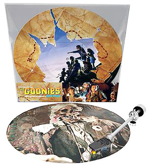Goonies Vinyle picture disc ost soundtrack BO edition LP