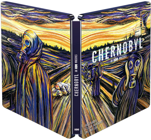 Chernobyl Steelbook collector Bluray 4K serie HBO
