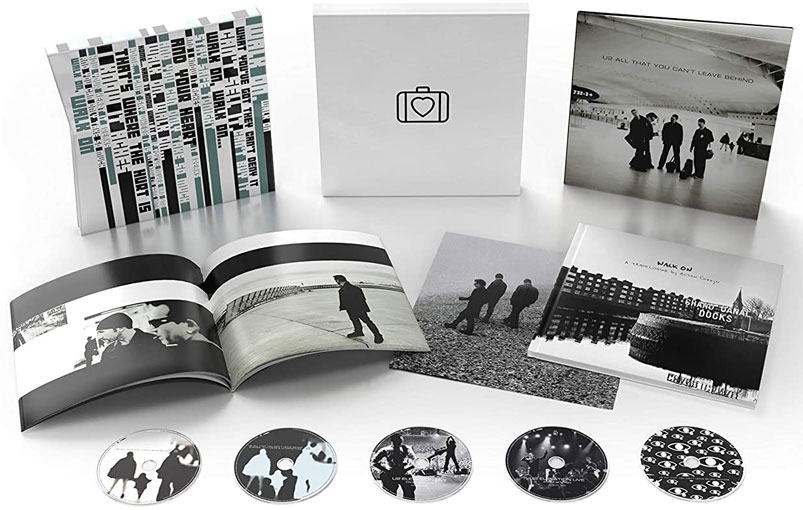 Coffret u2 cd All That You Cant Leave Behind ediiton deluxe limitee