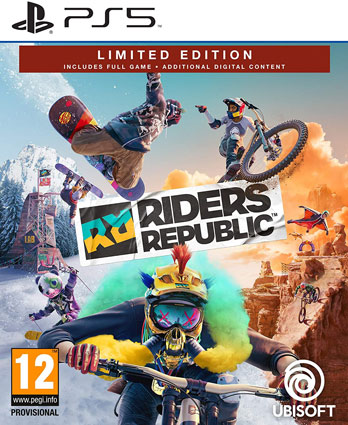 Riders republic edition PS5 achat jeu video Playstation 5