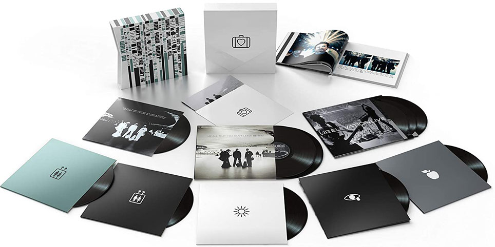 U2 Coffret box collector 20th All That You Cant Leave Behind 2020 vinyle lp