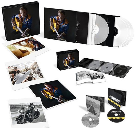johnny hallyday son reve americain coffret collector edition limitee numerotee