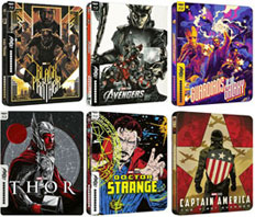 0 steelbook marvel 4k
