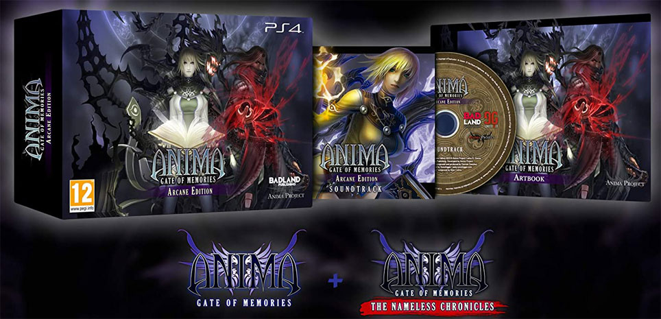 Anima coffret collector PS4 gate of memorie