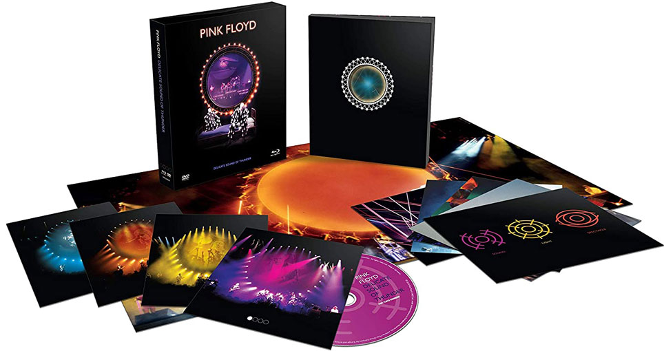 Coffret pink floyd delicate sound of thunder 2020 LP CD Bluray