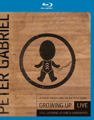 Growing up live Blu ray DVD peter gabriel