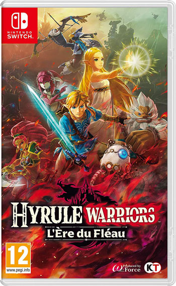 Hyrule Warriors ere du fleau Nintendo Switch Zelda 2020 noel