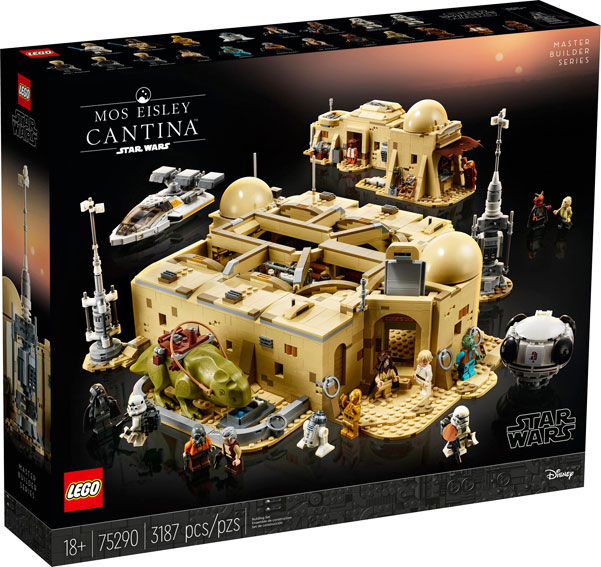 Lego star wars 75290 Mos Eisley cantina 2020 ucs collector