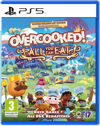Overcooked PS5 Playstation 5 jeux video