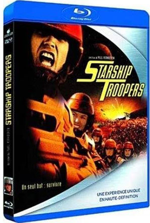 Starship troopers bluray dvd
