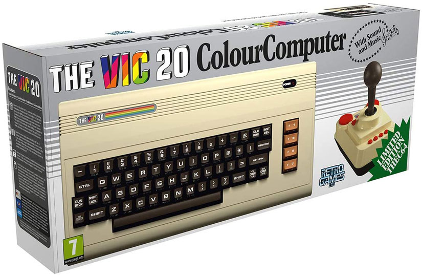 VIC 20 edition limitee limited retrogaming c64