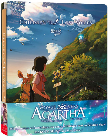 Voyage vers agartha steelbook collector bluray dvd