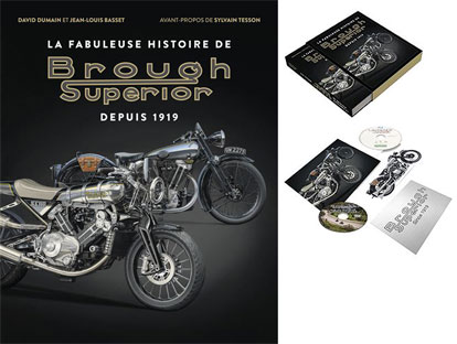 artbook livre moto brough superior