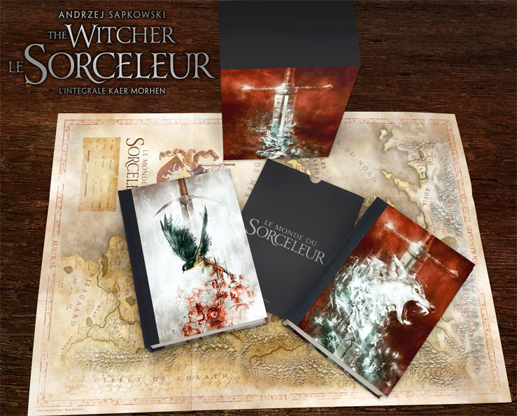 the witcher coffret integrale sorceleur kaer morhen