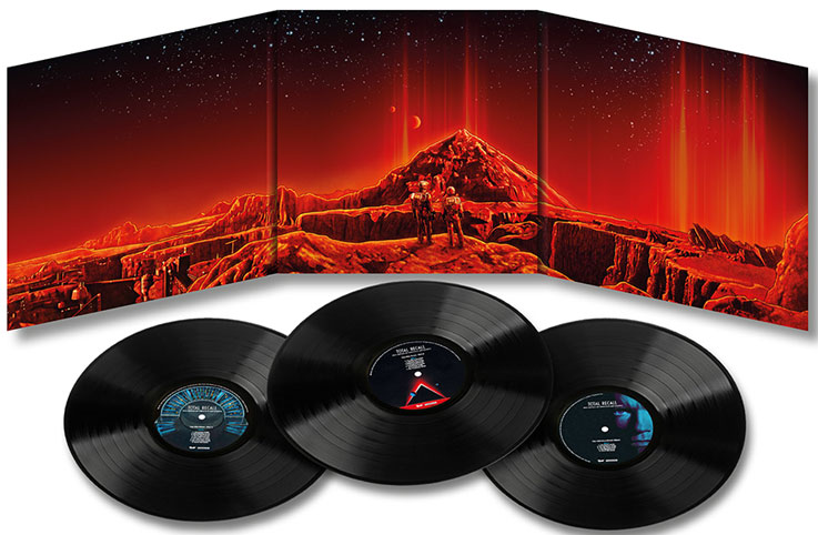 total recall ost soundtrack 3lp vinyle collector 30th anniversary