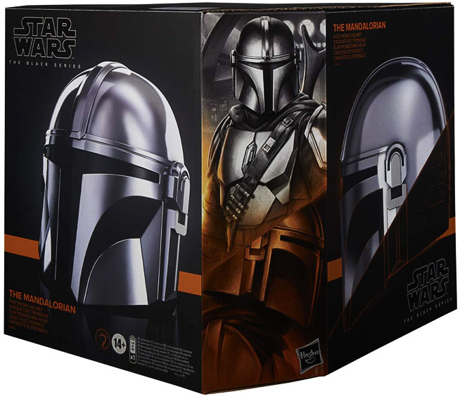Casque taille reelle collector star wars the mandalorian hasbro black series