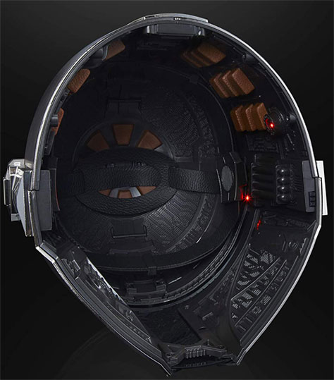 interieur casque star wars mandalorian