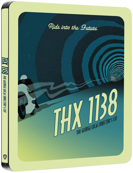 THX 138 steelbook collector Blu ray