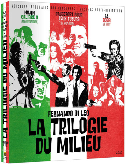 la trilogie du milieu film culte tarantino coffret integrale collector Bluray